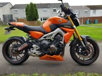 Yamaha MT-09 2014 ABS Model