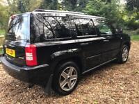 Jeep Patriot 2.0 Diesel Black LTD | 1 year MOT