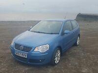 VW Polo 1.2. Great little car. MOT untill December.
