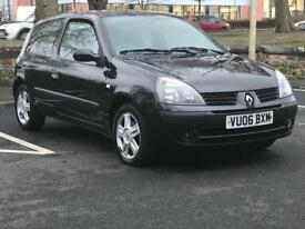 RENAULT CLIO 1.2 CAMPUS SPORT 2006 (06 REG)*£699*LONG MOT**CHEAP CAR TO RUN*PX WELCOME*DELIVERY