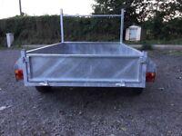 New 6x4 galvanised trailer