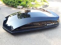 EXODUS 470L Roof box. Roof bars available.