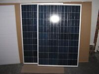 200w 2 x 100w Solar Panel Kit for Caravan, Campervan, Motor Home. Delivery or Installation