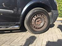 4 x Wheels and Tyres off Mercedes Vito 2007