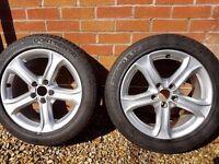 Audi Skoda VW alloys R17