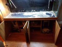 Aqua oak fishtank
