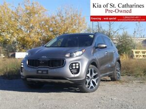 2018 Kia Sportage SX Turbo | $233.00 BI-WEEKLY | MULTIPLE COLOUR