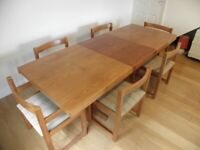 Litten Dining Table & Six Chairs