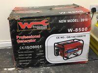 Brand new petrol generator never been used still in its original box