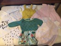 Up to 3 mths girls outfit bundle
