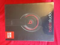 *Brand New* Unopened Beats by Dre Studio Headphones -Black.