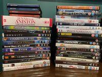 Bundle of 32+ DVDS. Including suicide squad, mamma Mia
