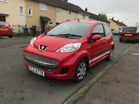 2010 Peugeot 107 Urban SP, Cheap Tax, Low Insurance, Perfect First Car, Immaculate £1995