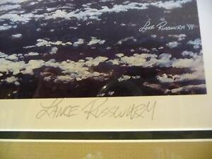 """Lance Russwurm """"The Mill and the Library"""" Signed and Numbered Stratford Kitchener Area image 3"""