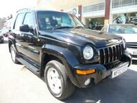 JEEP CHEROKEE 2.5 LIMITED CRD 5d 141 BHP (black) 2002