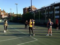 Netball players wanted for new Camden Monday league!