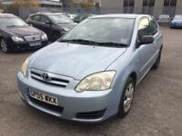 2005 rare and desirable toyota corolla t2 1.4 d4d not a yaris!! Extremely pocket friendly low mls