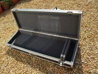 Large flight case suitable for keyboard etc.