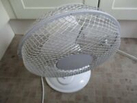 Desk fan in good condition