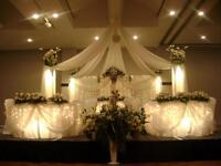 Chair Covers $1  , Tablecloths,Table Runners ,decor
