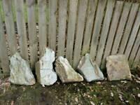 Garden decorative slate stones