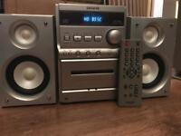Aiwa midi hifi system with speakers 🔊 and remote