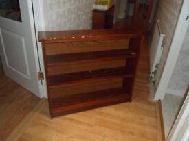 3 Shelf Wooden Book Case.