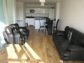 Lovely 2 bed / 2 bath furnished flat with gym and parking in Parkwest West Drayton