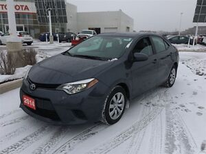 2014 Toyota Corolla LE with all the features! Toyota Certified!