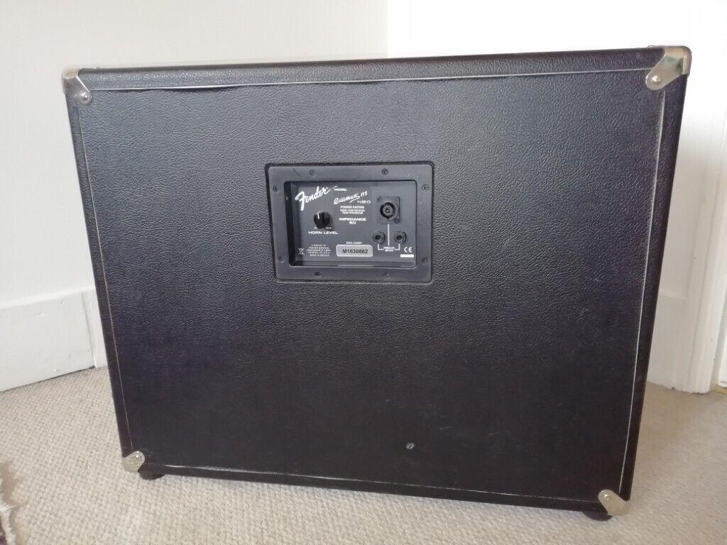 Fender Bassman 115 Neo Cab - Bass Guitar Amplifier (Speaker) | in  Southampton, Hampshire | Gumtree