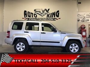 2012 Jeep Liberty Sport / Leather / 4x4 / Financing