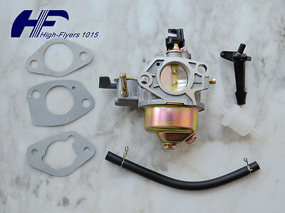 Carburetor Carb for Honda GX340 GX390 13HP 16100-ZF6-V01 Gasket Fuel Line Filter
