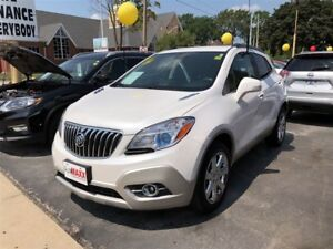 2014 Buick Encore Leather- SUNROOF, NAVIGATION SYSTEM