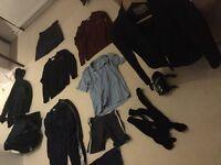 Shrewsbury High School (SHS) Uniform to include almost new blazer, two jumpers, skirt, Pe bag & kit