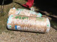 2 Rolls of Loft Insulation (Earthwool)