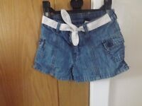 Girls Gap Shorts Age 3