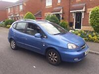 2007 CHEVROLET TACUMA + 1 year MOT + automatic
