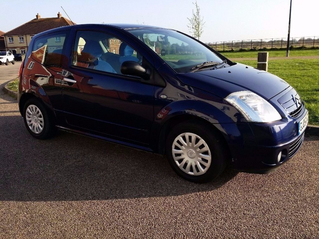 2005 55 citroen c2 1 4 hdi manual diesel in kingsnorth kent gumtree. Black Bedroom Furniture Sets. Home Design Ideas