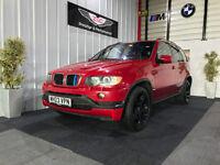 **VERY RARE** 2003/03 BMW X5 4.6is V8 346 BHP INDIVIDUAL IMOLA RED AUTO PX SWAP SWOP M3 M5 M6 R6
