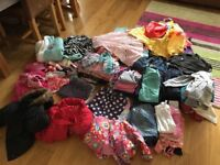 Huge bundle of girls clothes and shoes age 4 - 8 Years