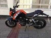 KTM DUKE 125cc NAKED 2014 mint low mileage HPI CLEAR!!