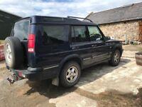 Land Rover Discovery 2. V8 auto.