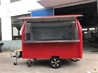 Mobile Catering Trailer Burger Van Hot Dog Ice Cream Pizza Trailer Food Cart 2800x1650x2300