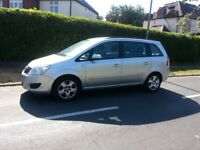 VAUXHALL ZAFIRA 2.0 AUTOMATIC EXCELLENT RUNNER SILVER 5DR @07454387636