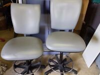 3 matching draughtsman chairs 45 pounds each