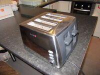 Breville 4 Slice Toaster Chrome and Black