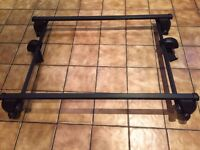 Mont Blanc Roof Bars (with 3 door roof bar extension) EXCELLENT CONDITION