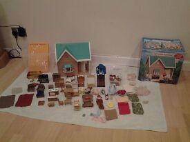 Sylvanian families House & Accessories Excellent Condition