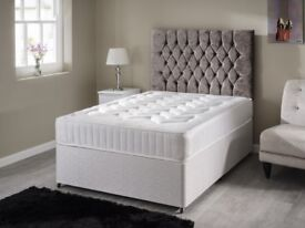 Delivery- TODAY PREMIUM RANGE Double Bed Single King Bed Complete Sets Luxury ORTHOPAEDIC Mattress--