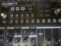 Arturia Drumbrute analog drum synthesizer boxed pristine condition drum machine